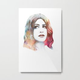 Deity II Metal Print