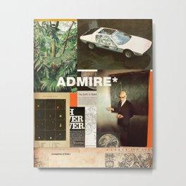 Admire Metal Print
