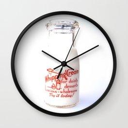 Dainty Desserts Wall Clock