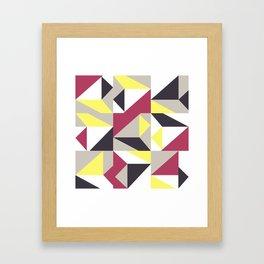 Geometric Framed Art Print