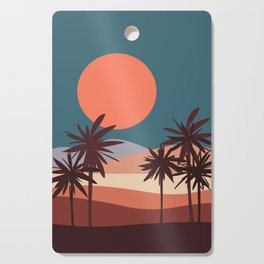 Abstract Landscape 13 Portrait Cutting Board