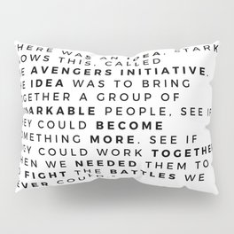there was an idea Pillow Sham