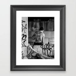 Drunk vs Sober Framed Art Print