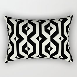 Modern bold print with diamond shapes Rectangular Pillow
