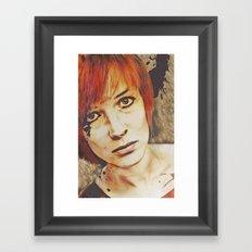 Miss Understood Framed Art Print