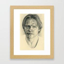 Sam Winchester Framed Art Print