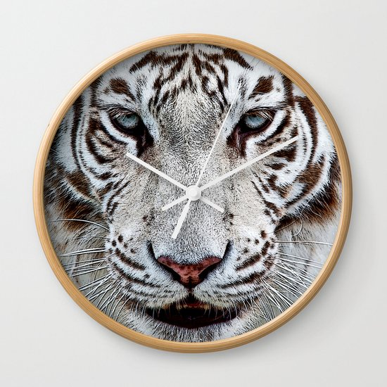 BLUE-EYED BOY Wall Clock