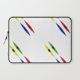 Colorful Kayaks Laptop Sleeve