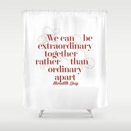 Extraordinary Shower Curtain