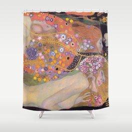 WATER SNAKES - GUSTAV KLIMT Shower Curtain
