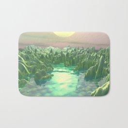 The Green Planet Bath Mat