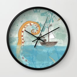 The Littlest Viking Wall Clock