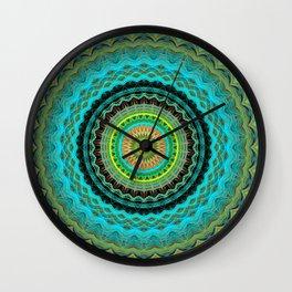 Bliss Mandala Wall Clock