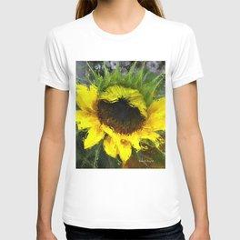 Watercolour Sunflower T-shirt