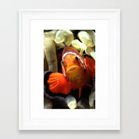 nemo Framed Art Prints featuring Nemo  by RevatiN
