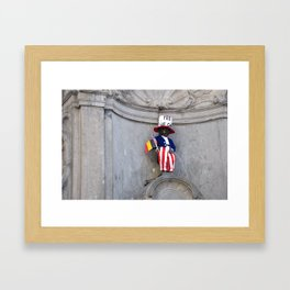 Yes We Can Framed Art Print