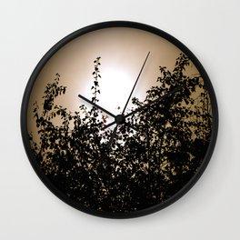 Vintage Trees Wall Clock
