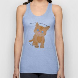 Cat called you stupid Unisex Tank Top