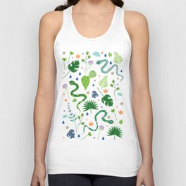 Snakes and Plants Unisex Tank Top