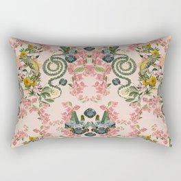 Where lizards live-Pink Rectangular Pillow