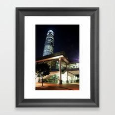 Central Pier Framed Art Print