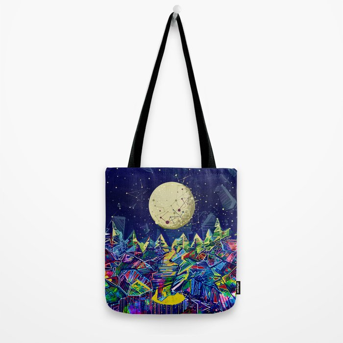 abstract forest Tote Bag