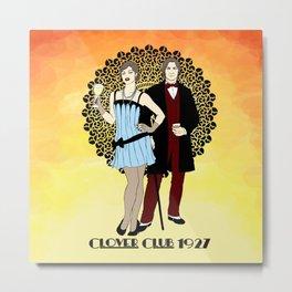 Clover Club - 1920s Metal Print