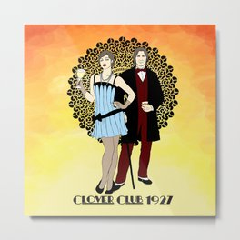 Clover Club - 1920s Metal Print