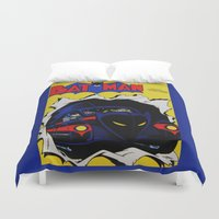 comic Duvet Covers featuring Comic 20 by Beastie Toyz