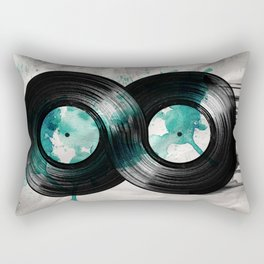 infinity vinyl Rectangular Pillow