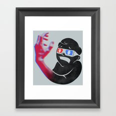 Now in Eye-Popping 3D! Framed Art Print
