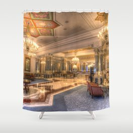 Ciragan Palace Istanbul Shower Curtain