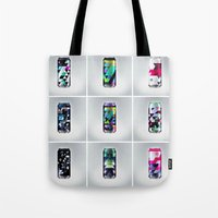 spires Tote Bags featuring Spires Sodas by Spires
