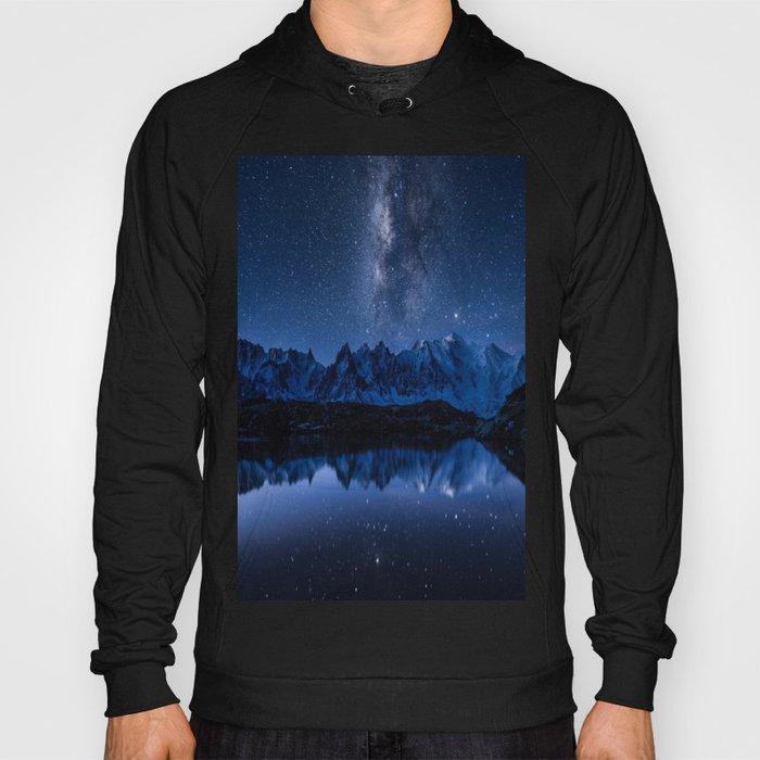 Night mountains Hoody