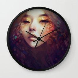 Fragment Wall Clock