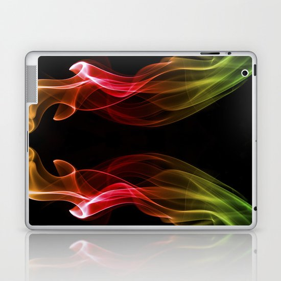 Smoke Photography #13 Laptop & iPad Skin