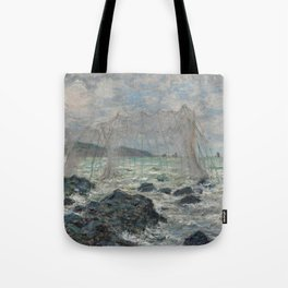 Fishing Nets at Pourville Tote Bag