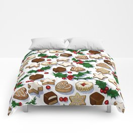 Christmas Treats and Cookies Comforters