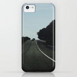 the black road iPhone Case