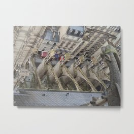 Right Side Up Metal Print