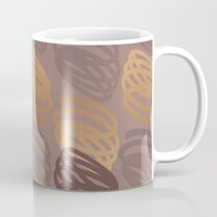 calligraphy Mugs featuring Calligraphy 4 by Johs
