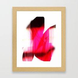 The Last Peeking Framed Art Print