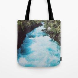 Huka Falls, New Zealand Tote Bag