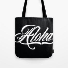 Aloha Script Tote Bag