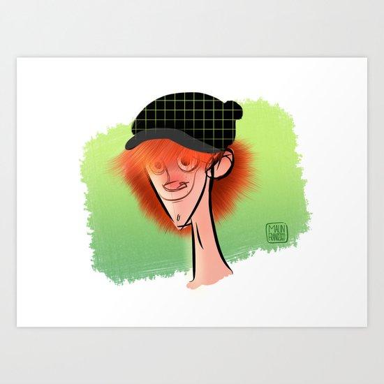 Irish Guy Art Print