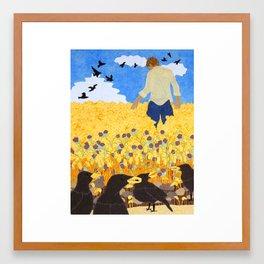 4 Seeds Framed Art Print