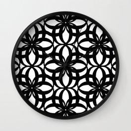 LETTERNS - O - Times New Roman Wall Clock