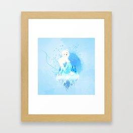 Save Polar Bear! Framed Art Print