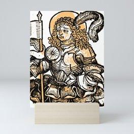 Menna the Soldier Mini Art Print