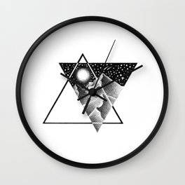 NORTHERN MOUNTAINS Wall Clock